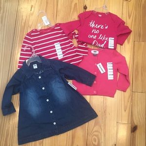 NWT Old Navy Bundle of Girls 12-18 Month Clothes